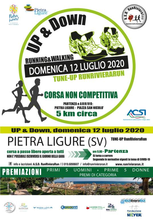 Up&Down Pietra Ligure 2020