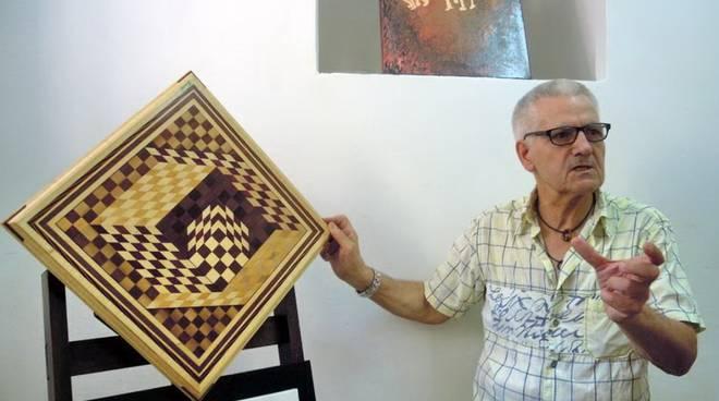Ennio Bianchi artista mosaici