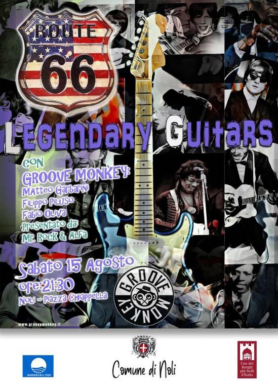 "Noli ""Legendary Guitars"" concerto Groove Monkey"