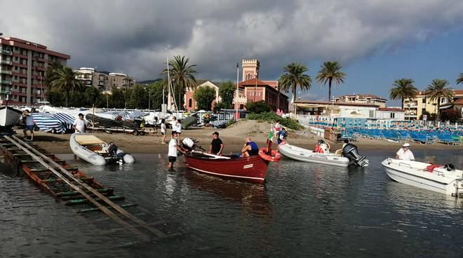 Albenga gita in barca ADSO Isola Gallinara agosto 2020