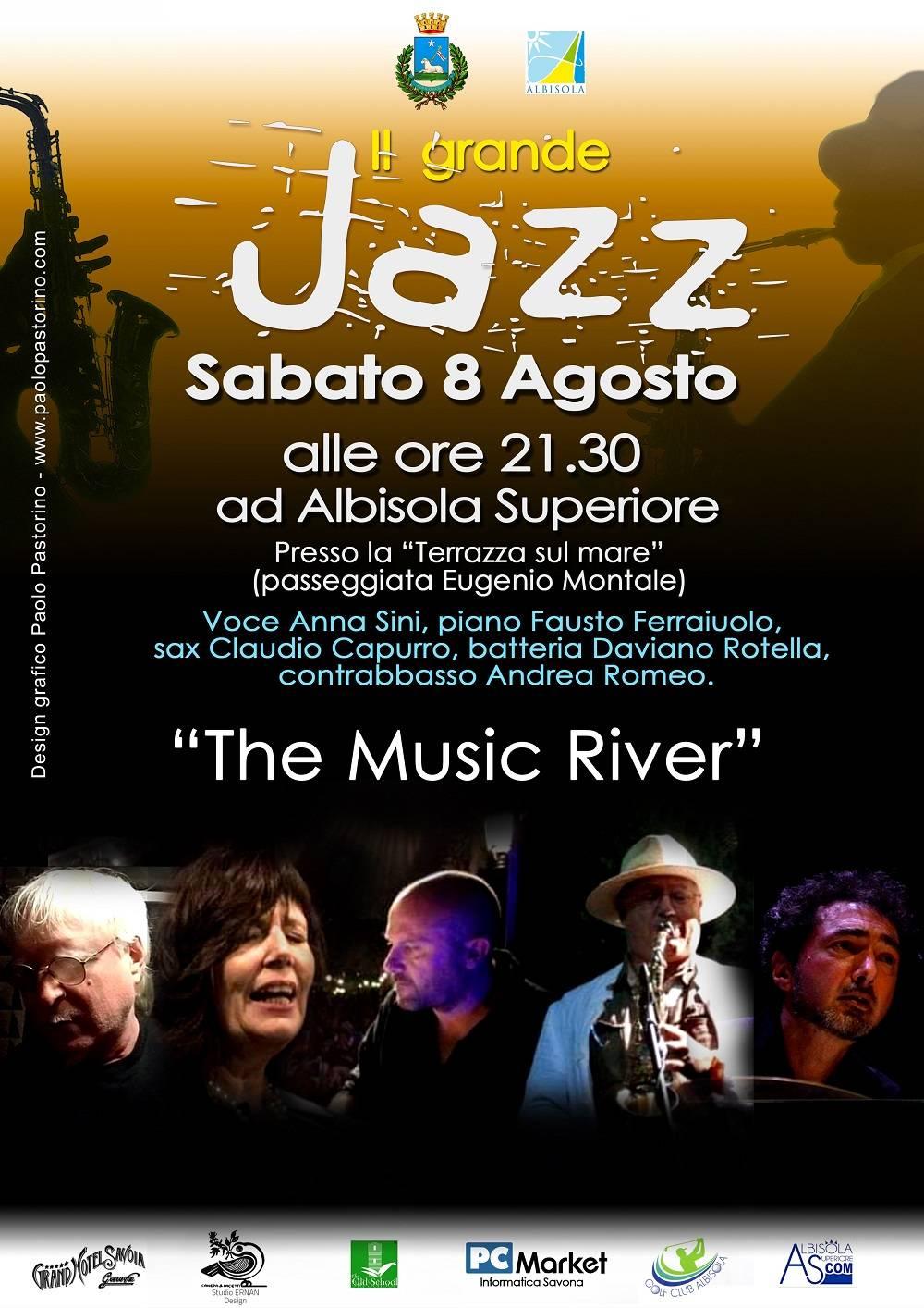 """Albisola Superiore """"The Music River"""" concerto jazz"""