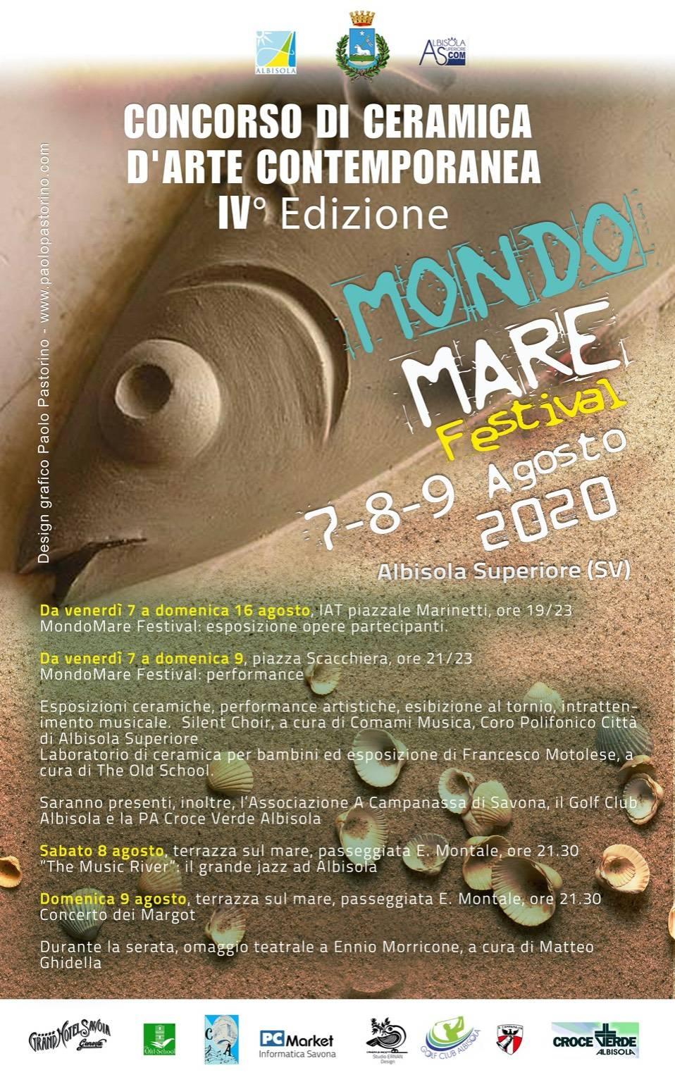 Albisola Superiore MondoMare Festival 2020