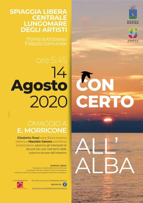 """Albissola Marina """"Concerto all'Alba"""" 2020 Piccola Accademia dell'Arte"""