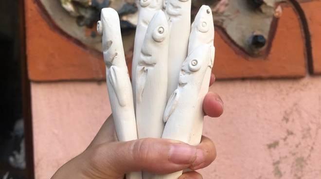 Albissola Marina acciughe e ceramica