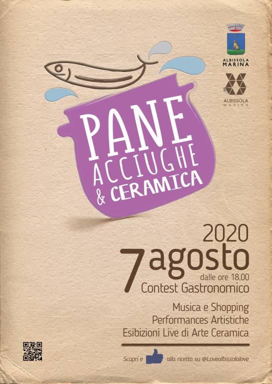 """Albissola Marina """"Pane, acciughe e ceramica"""" 2020"""