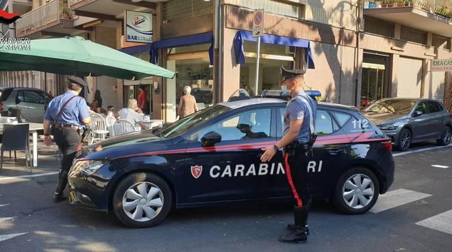 carabinieri bar dehor
