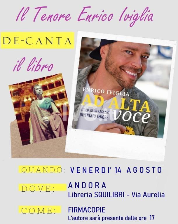 Serata col Tenore Enrico Iviglia