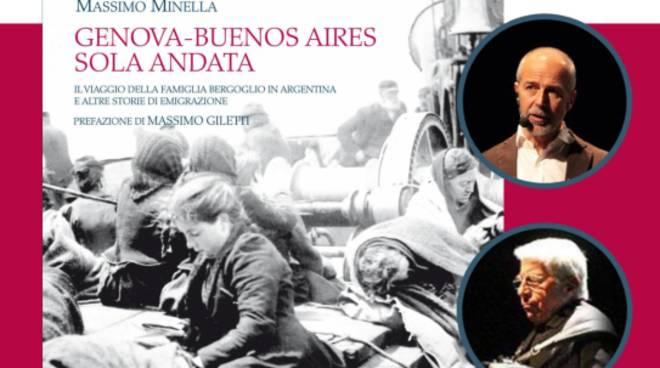 """""""Genova-Buenos Aires, sola andata"""" , giovedì 20 agosto alle 21 presso il Santuario di Cicagna: storie di migrazione come quella della famiglia Bergoglio"""