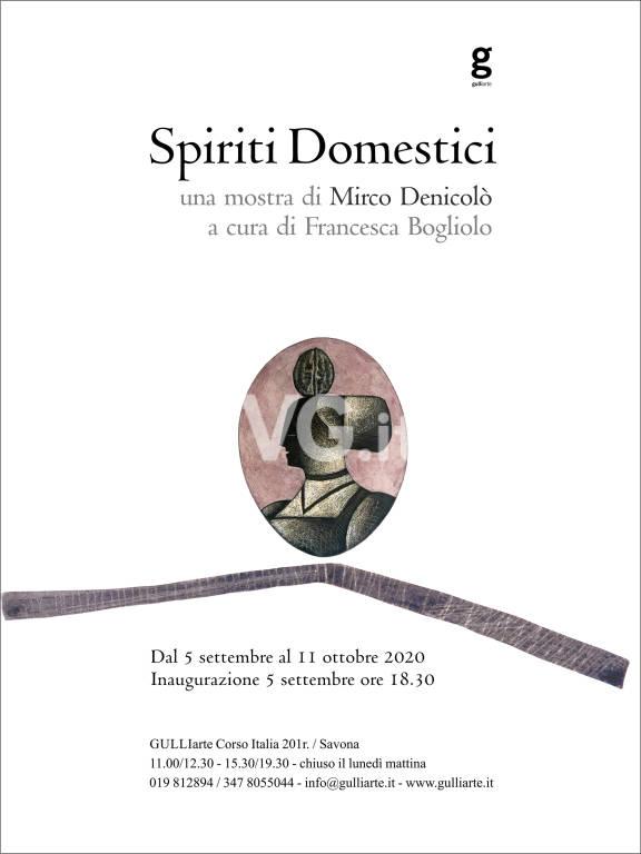 """Savona """"Spiriti domestici"""" mostra Mirco Denicolò GulliArte"""