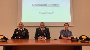 "CC Mirco Pellegrini Cairo Montenotte Operazione ""Veleno"""