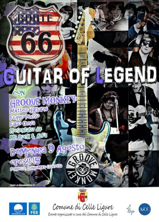 "Celle Ligure ""Guitar of Legend"" concerto Groove Monkey"