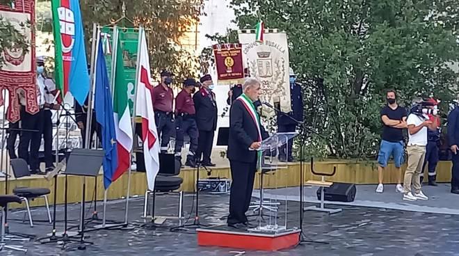 Commemorazione crollo Ponte Morandi 2020