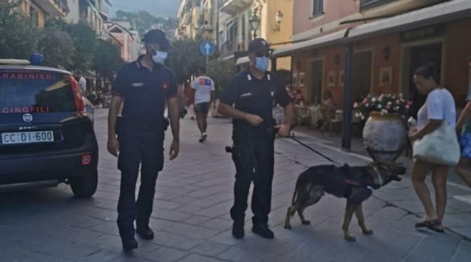Controlli carabinieri Alassio estate