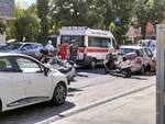 Croce rossa incidente Alassio