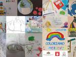 disegni bambini coronavirus