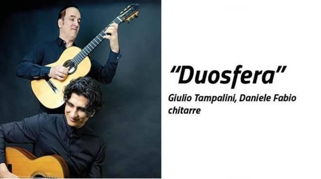 Duosfera chitarristi Giulio Tampalini e Daniele Fabio