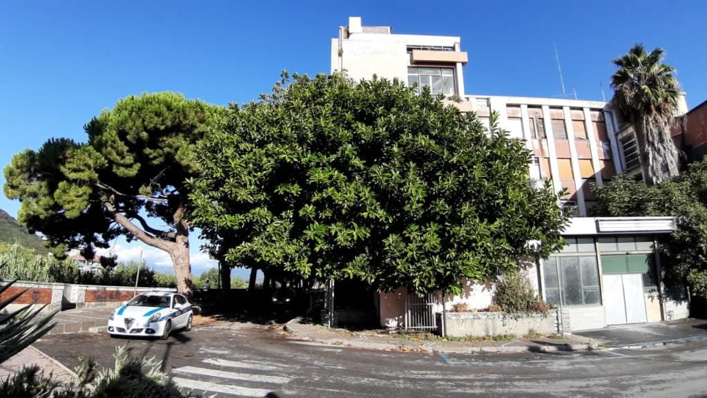 Ex ospedale Albenga blitz