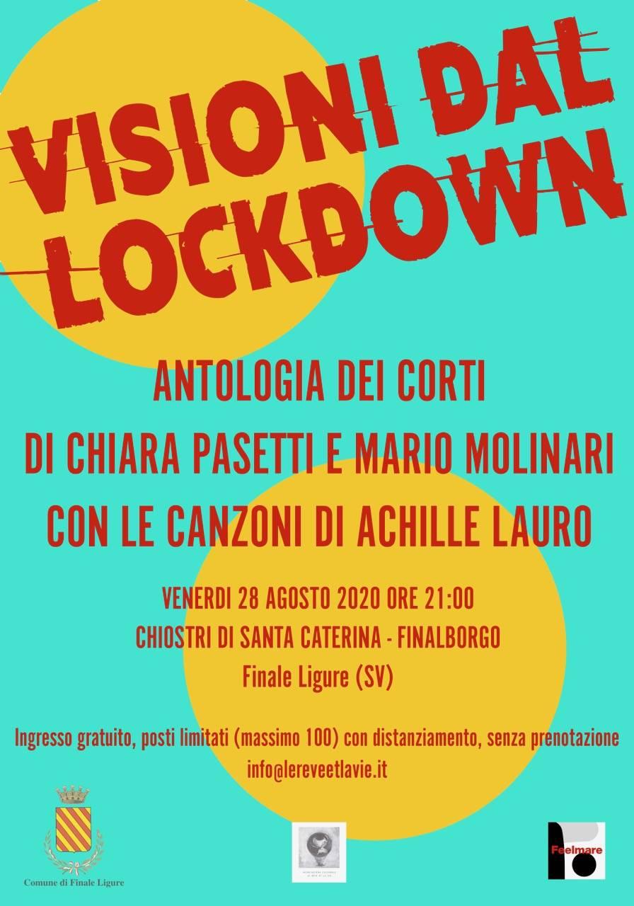 Finale visioni dal lockdown Santa Caterina agosto 2020