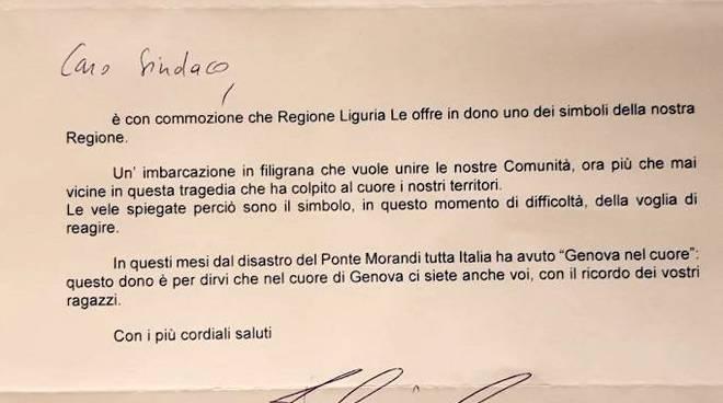 """""""Gemellaggio"""" Genova e Premio """"Penisola Sorrentina"""""""