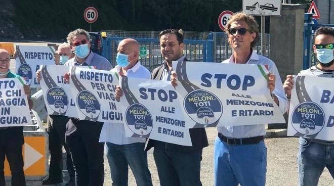 Catena Umana Fratelli Italia autostrade