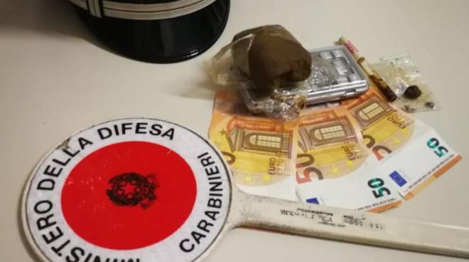 Droga Alassio Carabinieri