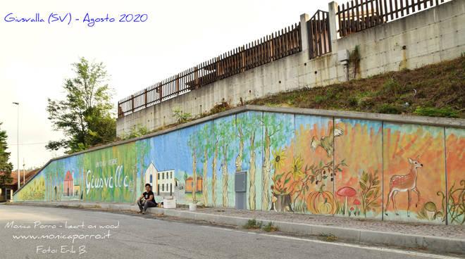 Murales Giusvalla - Monica Porro