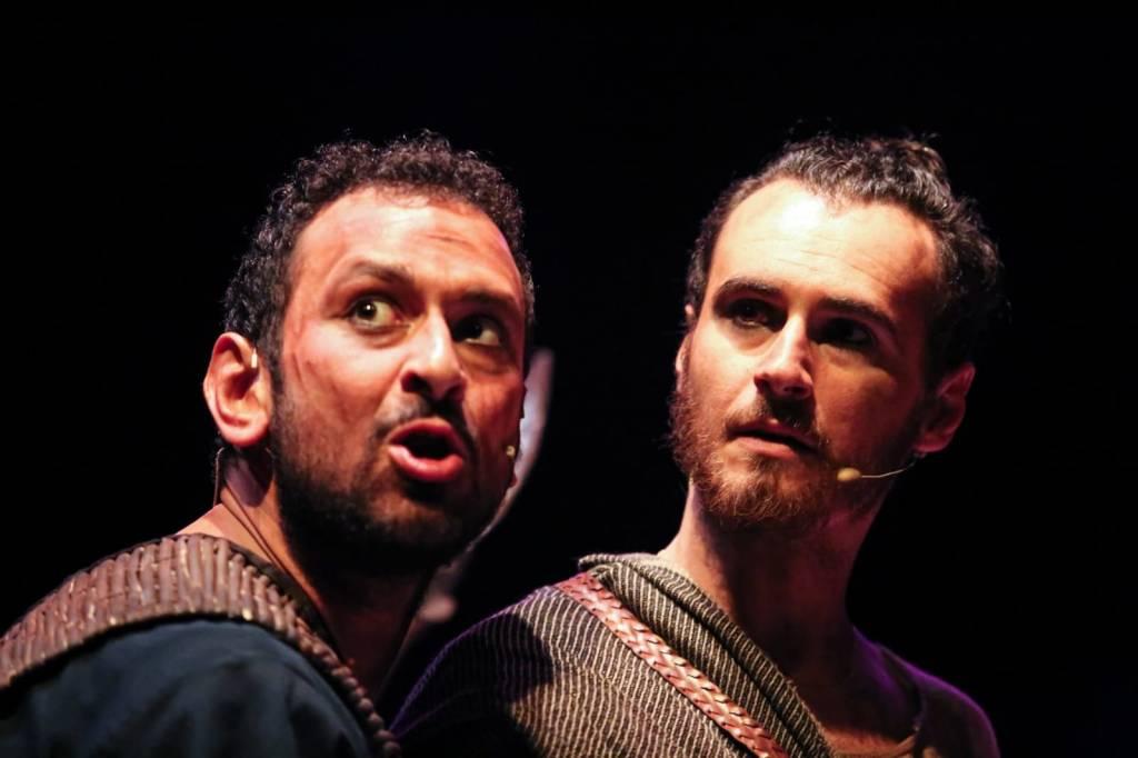 """Genova """"Ulisse"""" spettacolo teatrale Igor Chierici"""