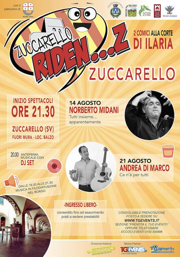 """""""Zuccarello Riden...Z"""" 2020 rassegna teatrale"""