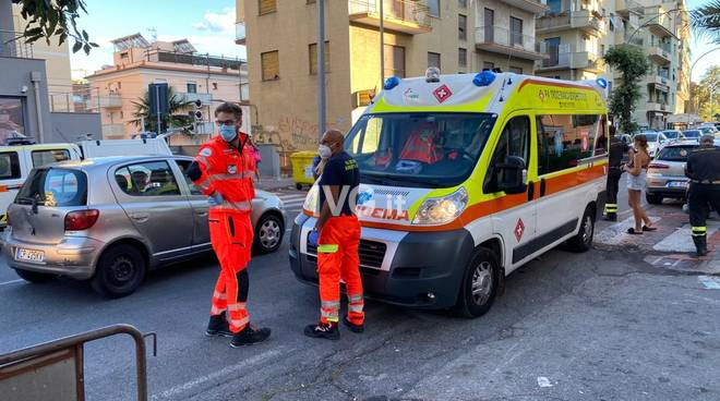 Loano aurelia investimento ambulanza croce bianca Borghetto