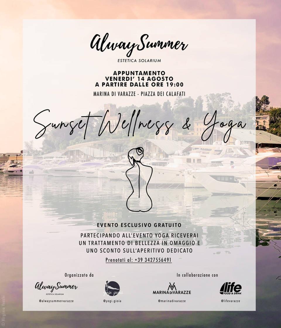 Marina di Varazze Sunset Wellness & Yoga 2020
