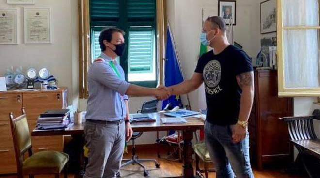 Mattia Fiorini Caio Cesar Lima Capelli