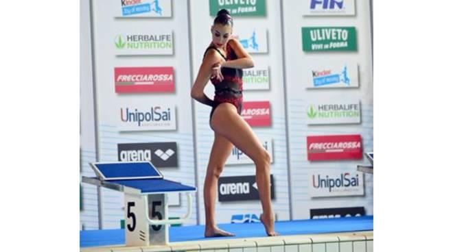 Olimpia Benvenuto ai campionati italiani assoluti