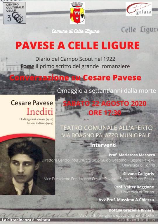 """""""Pavese a Celle Ligure"""" presentazione """"Diario"""""""