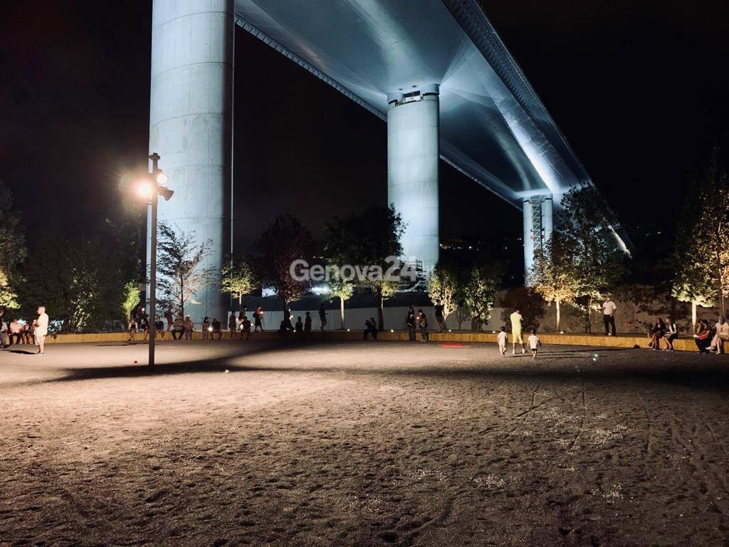 Ponte Morandi, fiaccolata per il secondo anniversario del crollo