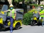Poste Italiane triciclo green Savona