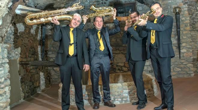 Quartetto Saxophobia gruppo musicale