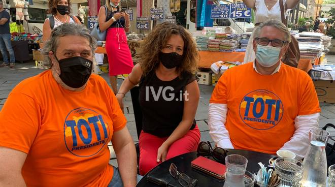 Regionali 2020, Toti a Savona