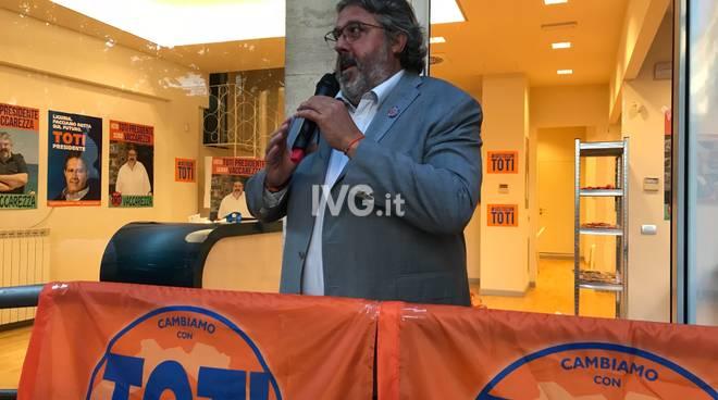 Regionali, inaugurazione point Angelo Vaccarezza