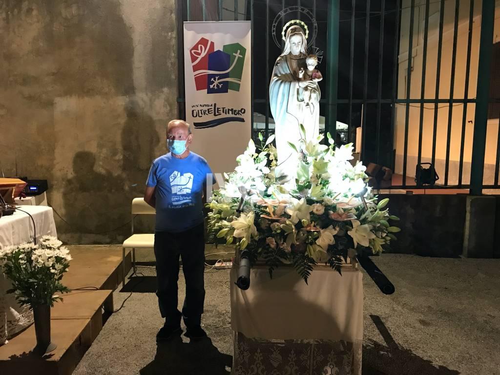 Savona, il borgo Fornaci festeggia Nostra Signora della Neve