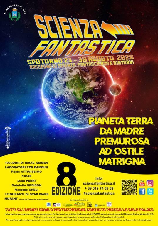 """Spotorno """"Scienza Fantastica"""" 2020"""