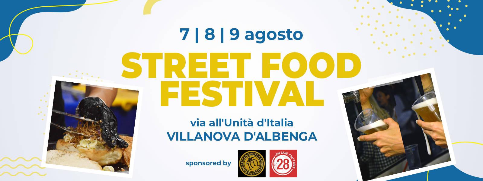 Street Food Festival Villanova D'Albenga 2020