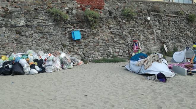Tende Savona Prolungamento spiaggia