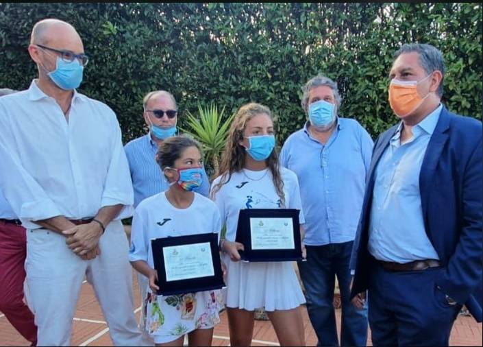Tenniste finale Carola Vittoria Toti