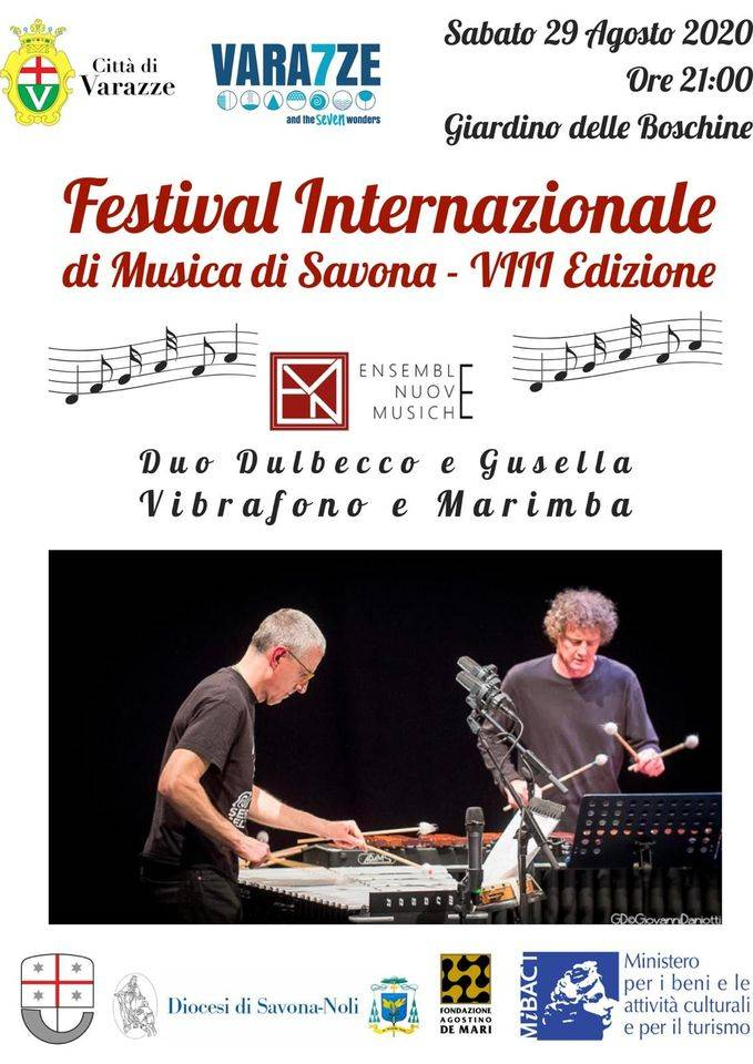 Varazze concerto duo Andrea Dulbecco e Luca Gusella