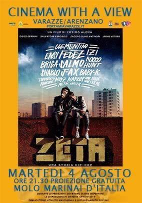 """Varazze proiezione film """"Zeta - Una storia hip hop"""""""