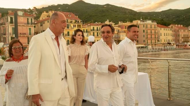 White party gala dinner alassio Marco Melgrati Angelo Galtieri