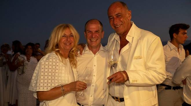 White party gala dinner alassio Marco Melgrati Angelo Galtieri