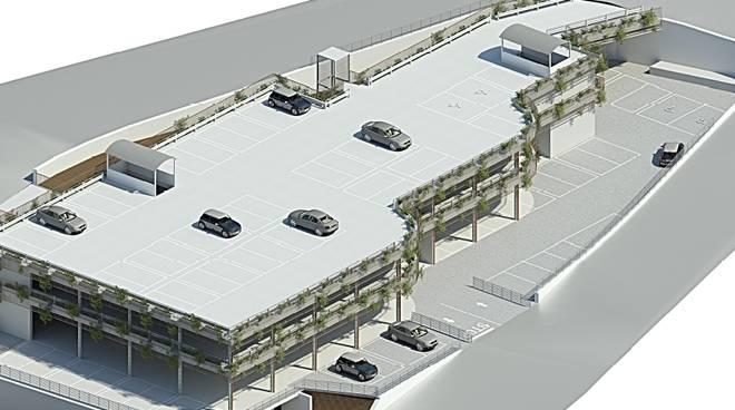 Alassio parcheggio via Pera