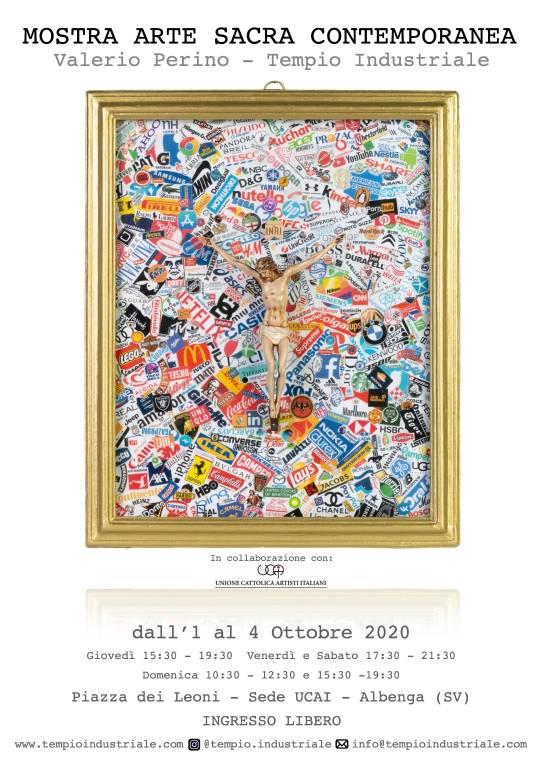 """Albenga """"Arte Sacra Contemporanea"""" mostra d'arte Valerio Perino"""