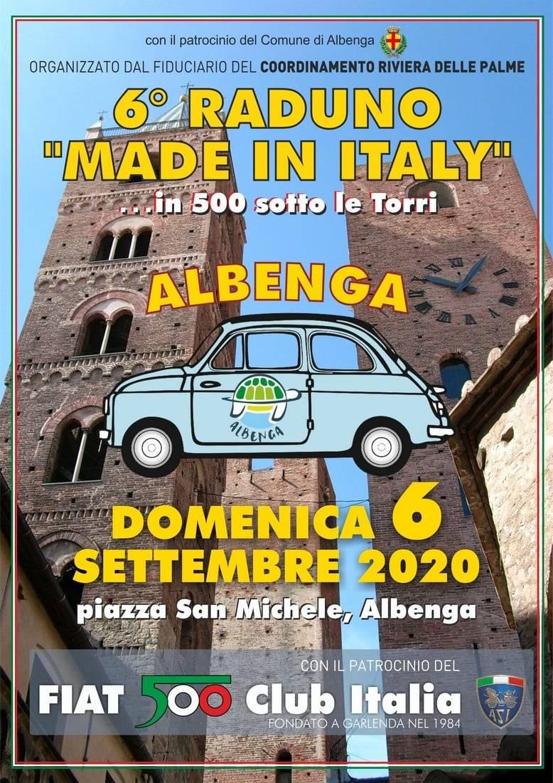 Albenga Raduno Fiat 500 settembre 2020